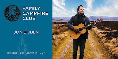 Family Campfire Club Bristol: Jon Boden tickets