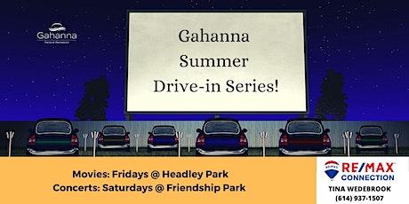 Gahanna Summer Drive-In Movie Series tickets