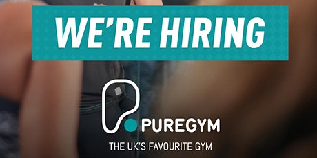 Personal Trainer/Fitness Coach Hiring Open Day - Stowmarket (New Opening) tickets