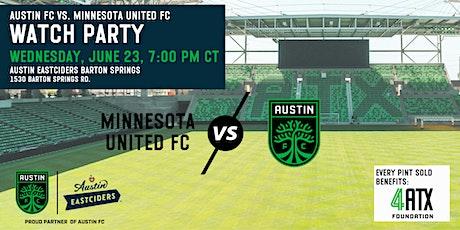 Watch Party: Austin FC vs Minnesota United FC tickets