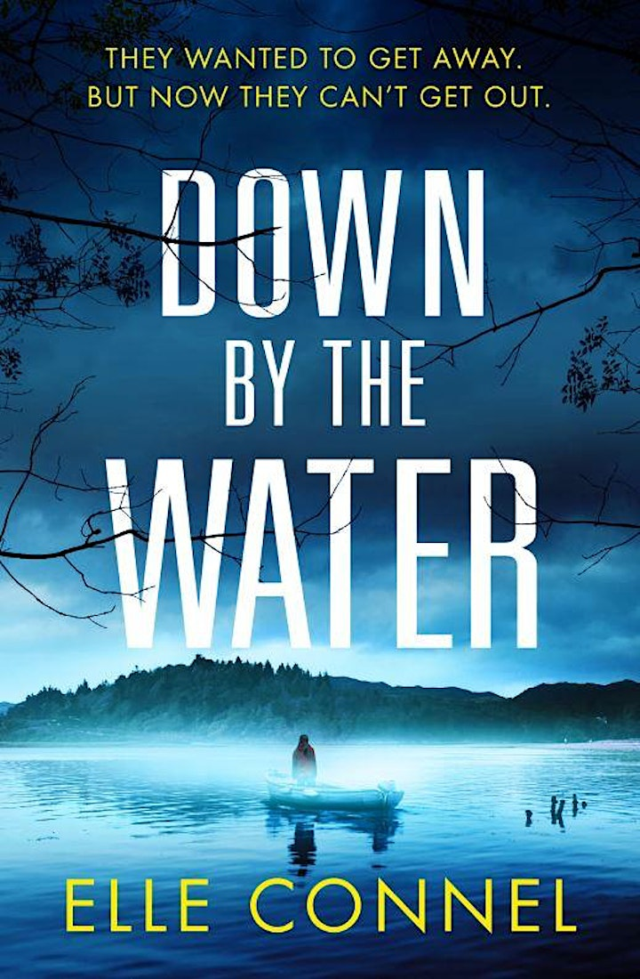 DOWN BY THE WATER virtual book launch image