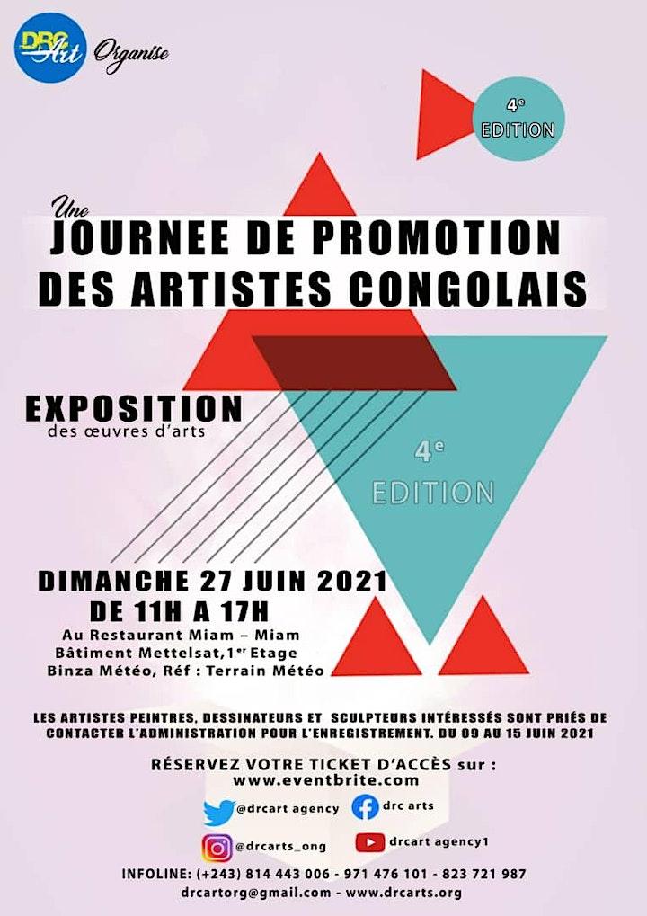 Image pour JOURNÉE DE PROMOTION DES ARTISTES CONGOLAIS  4e Édition