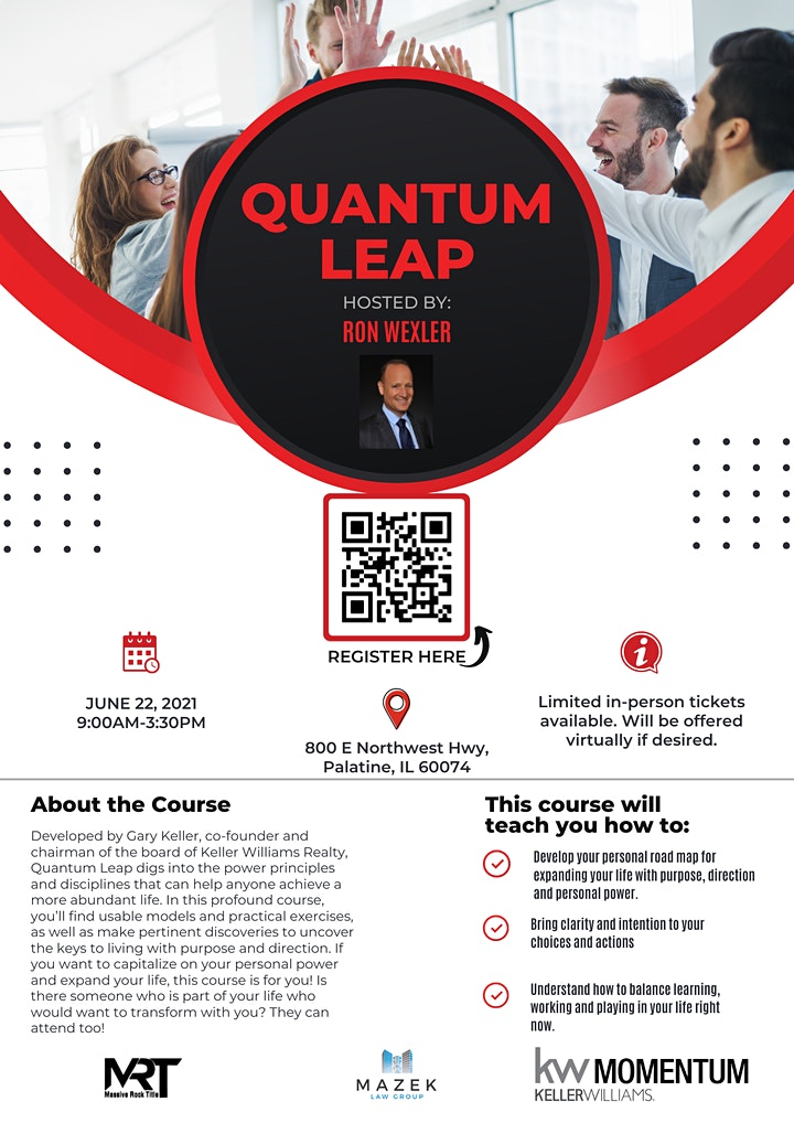 Quantum Leap Out of COVID image