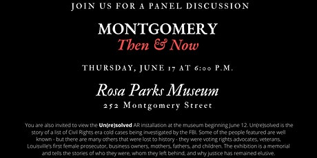 Montgomery: Then and Now tickets