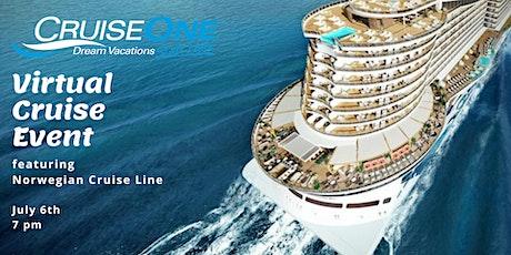 Virtual Cruise Night with Chris Caulfield CruiseOne and Norwegian Cruise tickets