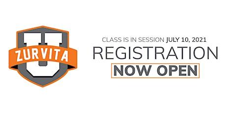 Zurvita U English Virtual Registration tickets