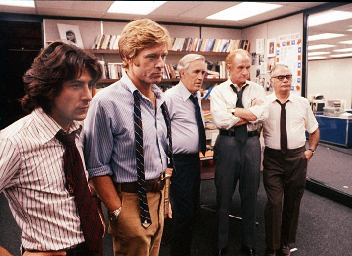 All The President's Men: Analysis & Screening - Film History Livestream image
