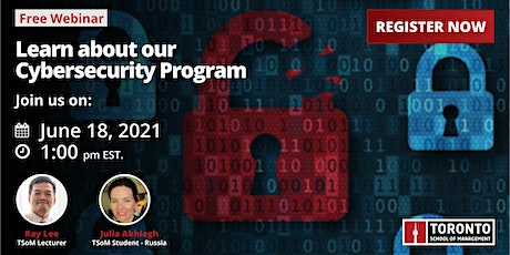 Learn about our Cybersecurity program tickets