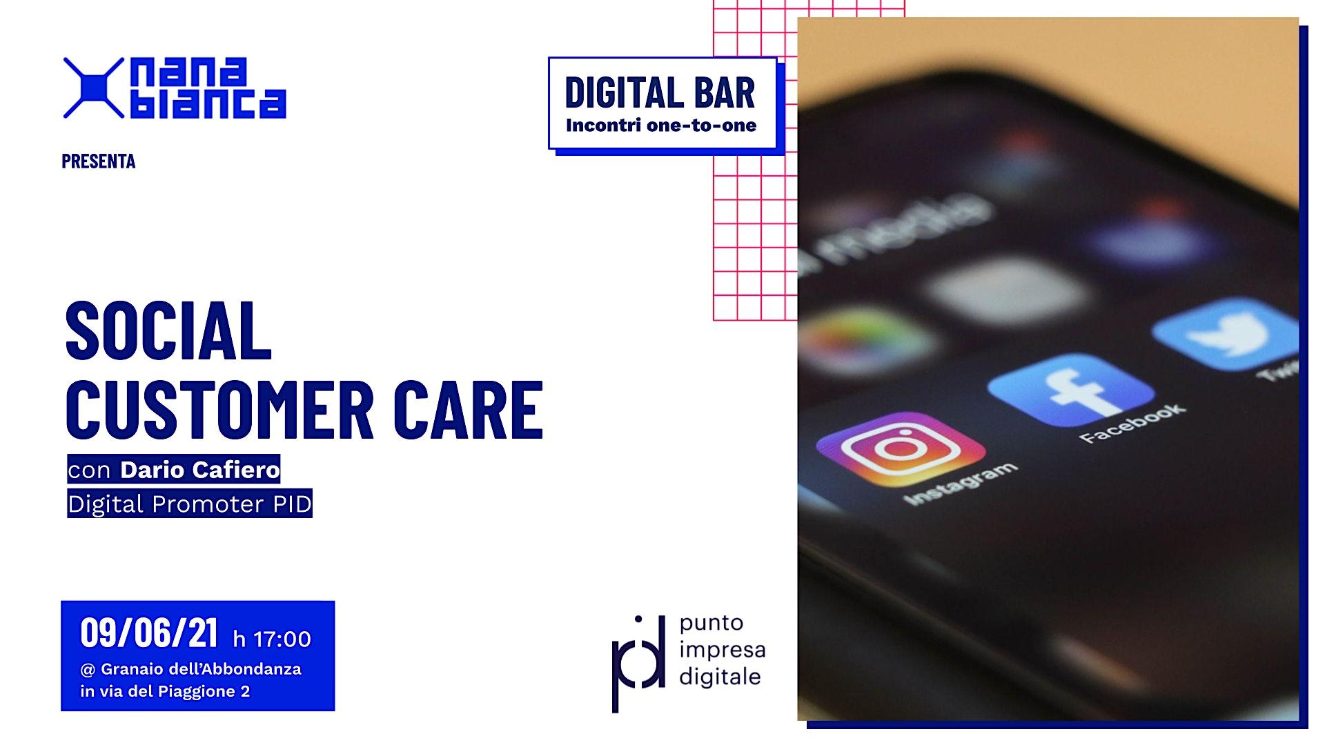 Digital Bar: Social Customer Care