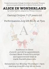 Alice In Wonderland Auditions tickets