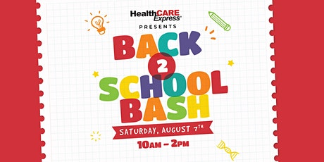 Back to School Bash - Vendor Booth tickets