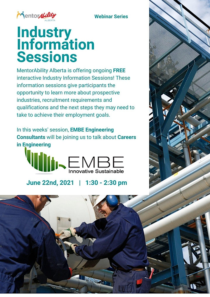 MentorAbility Industry Information Session: Careers in Engineering image
