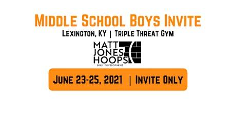 Middle School Boys Basketball Invite | Matt Jones Hoops tickets
