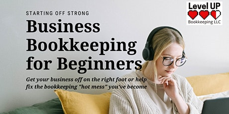 Business Bookkeeping for Beginners tickets