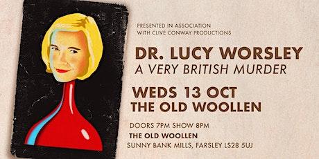 Dr Lucy Worsley - A Very British Murder tickets