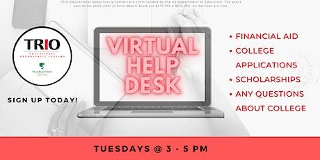 Virtual Help Desk (Zoom) tickets