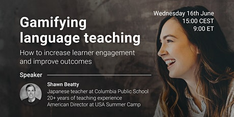 Gamifying language teaching to increase learner engagement tickets