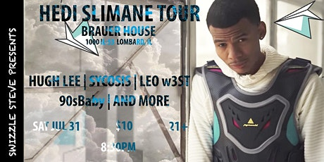 Hugh Lee with Sycosis, Leo w3ST, 90sBaby at BrauerHouse Lombard tickets