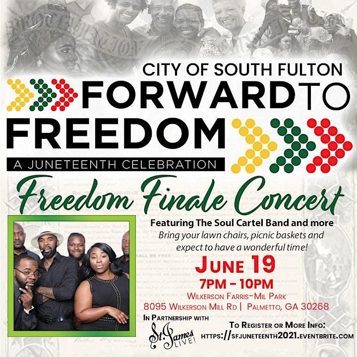 City of South Fulton Forward To Freedom Juneteenth Celebration image