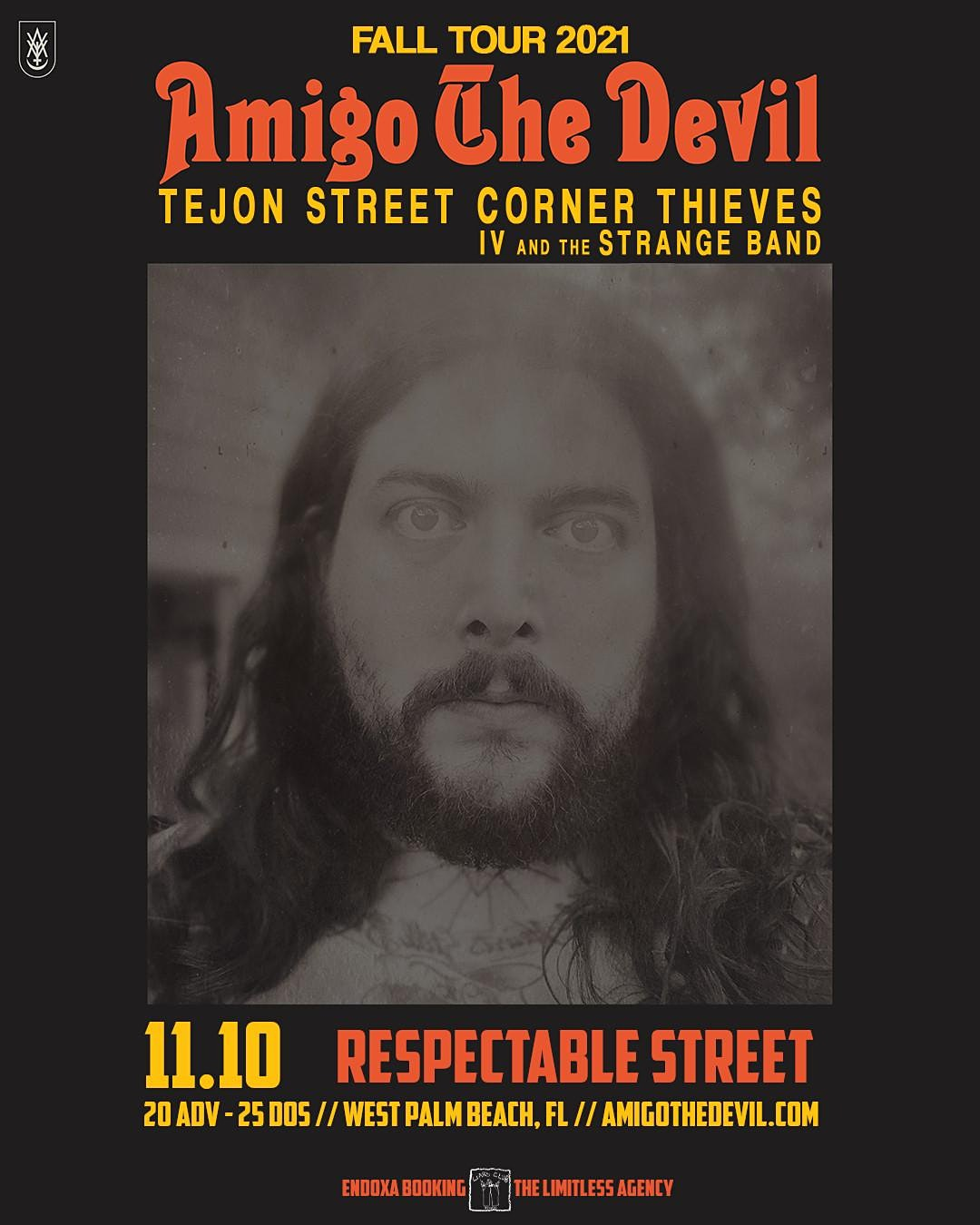 Amigo the Devil, Tejon Street Corner Thieves, and IV and the Strange Band in West Palm Beach at Respectable Street