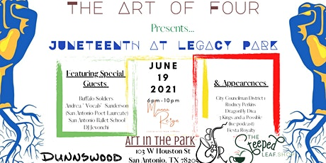 The Art of Four Presents Juneteenth at Legacy Park tickets