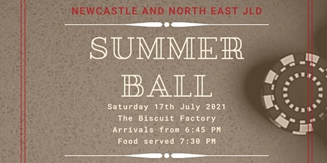 Newcastle and North East JLD Summer Ball tickets
