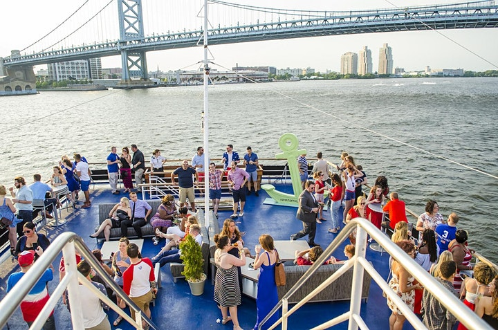 Drink Philly's Red, White, & Blue Boat Party, July 1 image