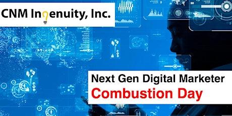 Next Gen Digital Marketer: Data & Analytics Combustion Day tickets
