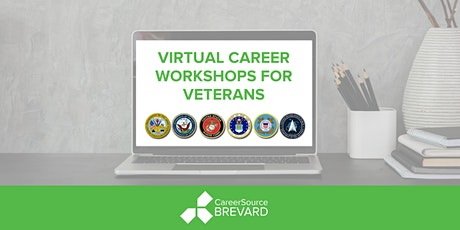 Civilian Resume Virtual Workshop - For Veterans and Transitioning Military tickets