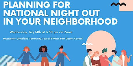 Planning for National Night Out in Your Community tickets