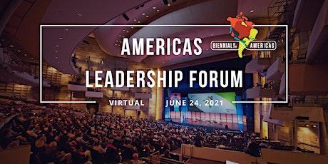 Americas Leadership Forum tickets