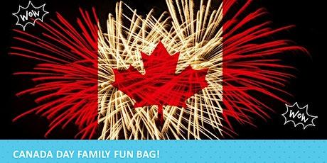 Canada Day Family Fun Bag! tickets