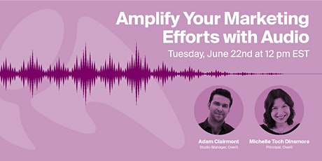 Amplify Your Marketing Efforts with Audio tickets