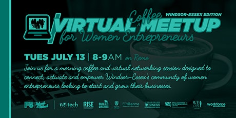 F5: Virtual Coffee Meetup for Women Entrepreneurs (Windsor-Essex Edition) tickets