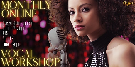 Online Vocal Workshop tickets