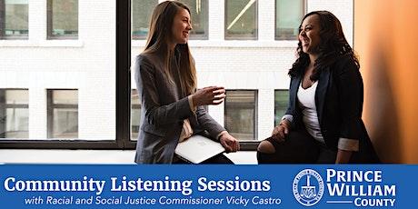 Community Listening Sessions | Buckhall Fire Station tickets