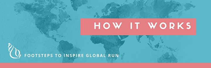 Footsteps To Inspire Global Run image