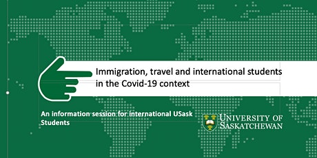 Immigration, travel and international students in the Covid-19 context tickets