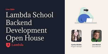 Lambda School Backend Development Open House tickets