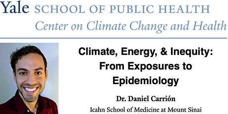 Climate, Energy, & Inequity:  From Exposures to Epidemiology tickets