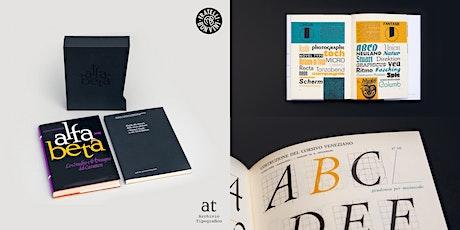ALFA-BETA DAY.  Presentazione del libro e live letterpress. biglietti