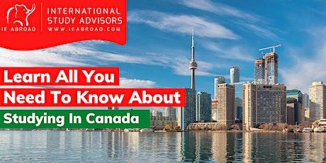 Study in Canada (Virtual Event) - Zimbabwe tickets