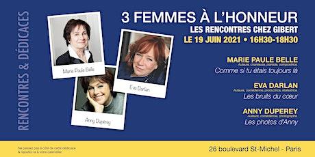 GIBERT dédicace : 3 FEMMES À L'HONNEUR billets