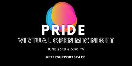 PRIDE Virtual Open Mic Night tickets