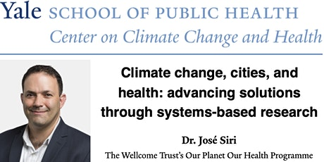 Climate change, cities, & health: advancing solutions through research tickets