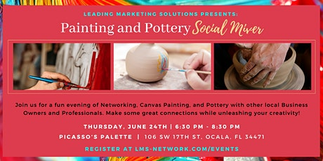 Painting and Pottery Social Mixer tickets