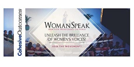 WomanSpeak Virtual Workshop tickets