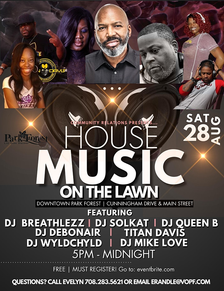 House Music on the Lawn image