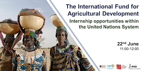 IFAD: Internship Opportunities within the United Nations System Tickets