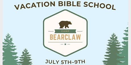 Camp Bear Claw: Vacation Bible School tickets